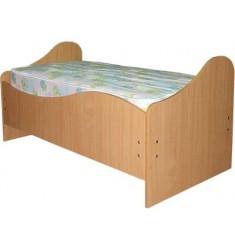 """Кровать детская """"Волна"""" с матрацем"""