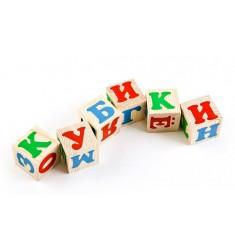 """Деревянные кубики """"Русский алфавит"""""""