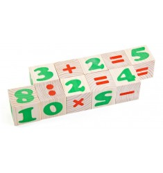 "Деревянные кубики ""Цифры"""